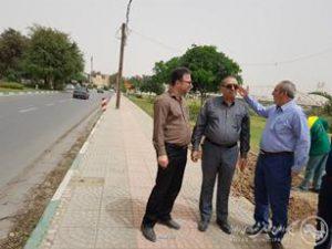 رفع گره ترافیکی ساحل غربی حدفاصل پل پارک جزیره تا پل سلمان فارسی