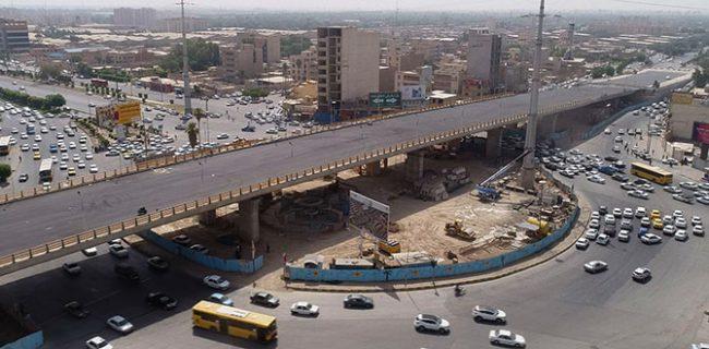 افتتاح فاز اول تقاطع غیر همسطح میدان چهارشیر