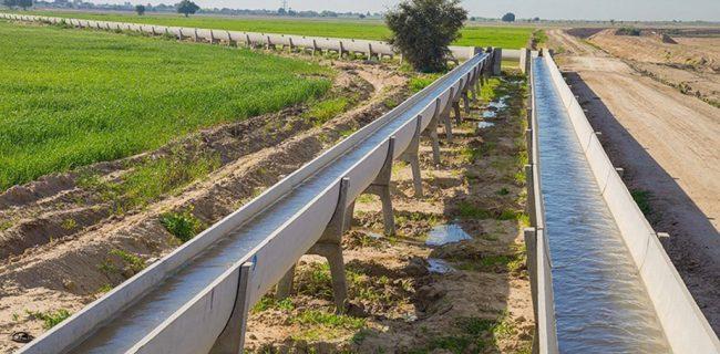 تکمیل فاز اول طرح ۵۵۰ هزار هکتاری توسعه کشاورزی خوزستان و ایلام در سال ۹۷