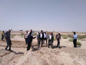 روز پرترافیک پروژه ملی مهار کانون های گرد و غبار