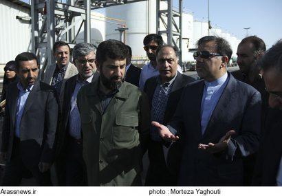 افتتاح ۱۰ پروژه عمرانی در ماهشهر با حضور وزیر راه