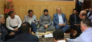 مشکلات بخش چلو از توابع اندیکا با حضور استاندار خوزستان و مدیران استانی بررسی شد