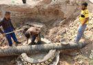 اجرای ۴۵۰۰ متر خط انتقال فاضلاب در مرز چذابه