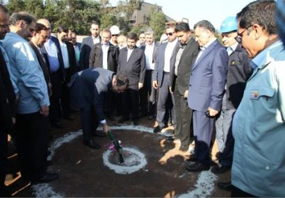کلنگ زنی احداث کارخانه مگا مدول آهن اسفنجی (زمزم ۳) شرکت فولاد خوزستان