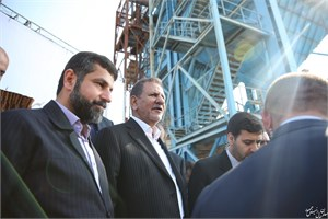 افتتاح کارخانه کک سبز خرمشهر با حضور معاون اول رییس جمهور