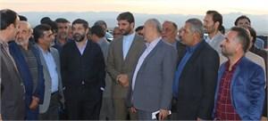 بازدید استاندار خوزستان از روند اجرایی پروژه ساخت جاده میانبر اهواز به مسجدسلیمان