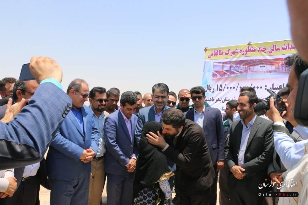بهره برداری و عملیات اجرایی ۹ طرح در ماهشهر و بندر امام کلید خورد