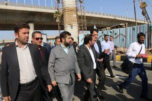 فاز دوم تقاطع غیر همسطح شهید کجباف با حضور استاندار به بهره برداری رسید