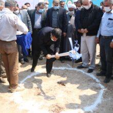 مراسم کلنگ زنی پروژه آبگیری از استیل کرخه با حضور شریعتی استاندار خوزستان