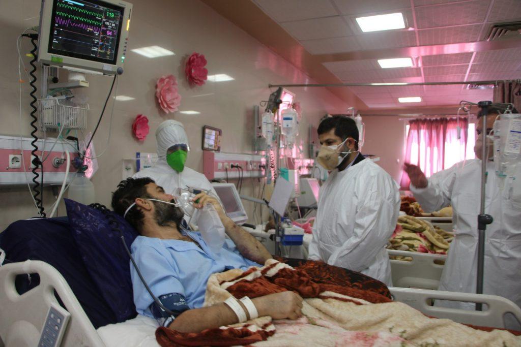 گزارش تصویری / بازدید استاندار خوزستان از بیمارستان های رازی و طالقانی اهواز به مناسبت روز پرستار و روز ملی پیشگیری از سوانح سوختگی