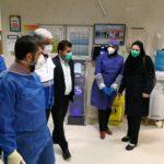 بازدید استاندار خوزستان از بیمارستان قرنطینهشده آیتالله طالقانی آبادان