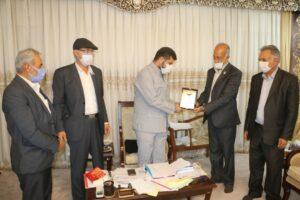دیدار خانواده شهدای صابئین مندایی با استاندار خوزستان