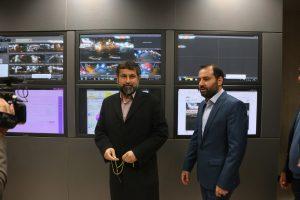مرکز کنترل ترافیک غرب شهرداری اهواز با حضور استاندار خوزستان به بهرهبرداری رسید