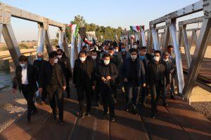 با حضور شریعتی استاندار خوزستان چند طرح صنعتی و عمرانی در شهرستان شوش به بهرهبرداری رسید
