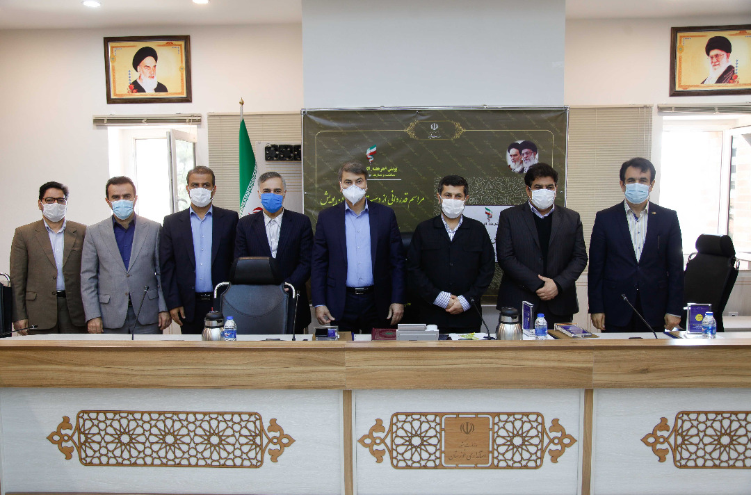 تجلیل وزیر نیرو از استاندار خوزستان و دست اندرکاران پویش #هرهفته_الف_ب_ایران