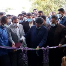 با حضور شریعتی استاندار خوزستان چند طرح عمرانی خدماتی در اندیمشک به بهره برداری رسید