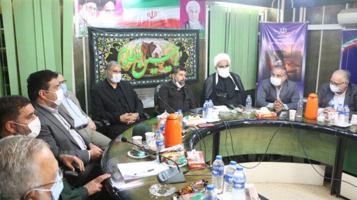 افتتاح باغ موزه آبادان در هفته دفاع مقدس با حضور شریعتی استاندار خوزستان