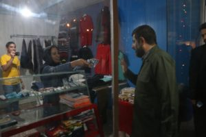 بازارچه خود اشتغالی بانوان در اهواز با حضور استاندار خوزستان افتتاح شد