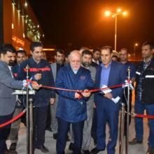 بهرهبرداری از آزمایشگاه خوردگی فولاد اکسین خوزستان باحضور وزیر نفت و استاندار خوزستان
