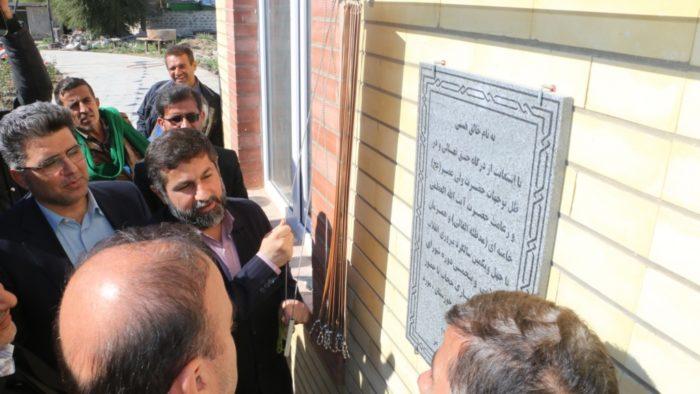 افتتاح چند پروژه به مناسبت دهه فجر در شهرستان رامهرمز با حضور دکتر شریعتی