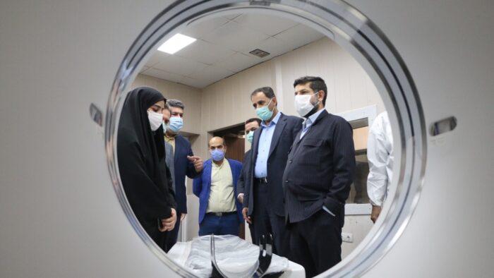 راه اندازی بخش CT اسکن بیمارستان سینا با اعتبار ۲ میلیارد و دویست میلیون تومان