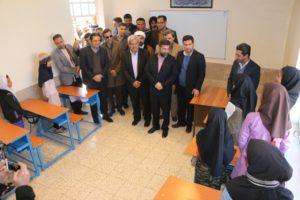افتتاح دبستان سه کلاسه خیرساز در روستای شهید عذیبی با حضور استاندار خوزستان