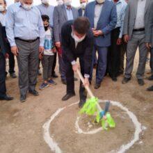 با حضورشریعتی استاندار خوزستان، پروژه آبخیزداری بندسنگی، ملاتی K2 مسجدسلیمان کلنگ زنی شد
