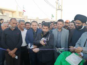 چندین طرح عمرانی، آموزشی و بهداشتی با حضور استاندار خوزستان در آغاجاری افتتاح و کلنگ زنی شد