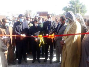 با حضور شریعتی استاندار خوزستان / یک مرکز جامع خدمات روستایی در شهرستان حمیدیه به بهره برداری رسید