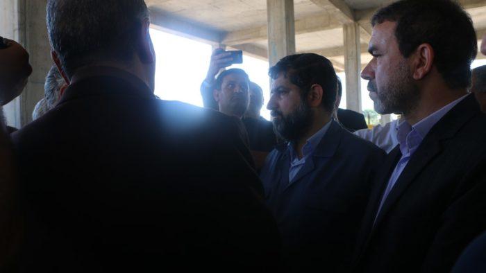 بازدید استاندار خوزستان از پروژه ساخت بیمارستان تامین اجتماعی شوش