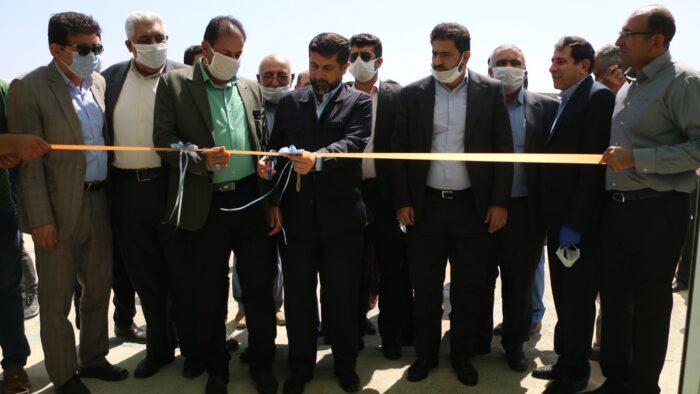 بهره برداری از نخستین گلخانه هیدروپونیک و هشتمین پایگاه امداد جادهای خوزستان در شوش
