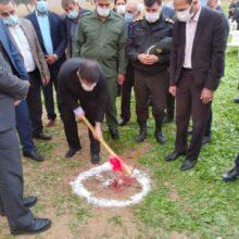 عملیات اجرایی طرح احداث بند گابیونی حوضه آب بهار مسجد سلیمان آغاز شد