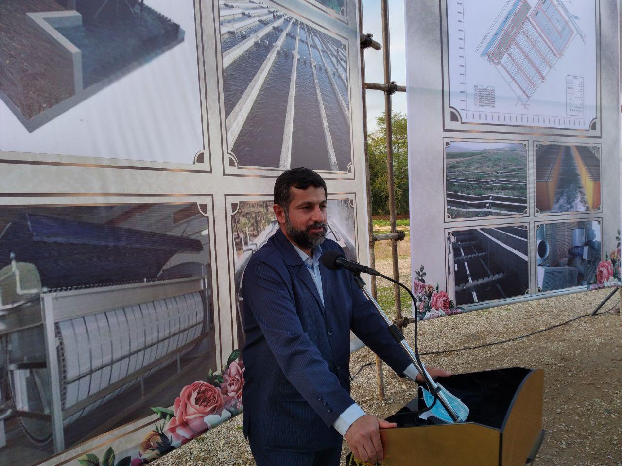 پروژه های مختلف در اندیمشک با حضور شریعتی استاندار خوزستان بهره برداری یا آغاز عملیات اجرایی شد