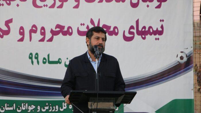 استاندار خوزستان: ۳۰ میلیارد تومان برای ساخت ۱۰۰ زمین چمن مصنوعی در اهواز تامین شد