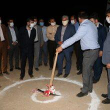 عملیات اجرایی ساخت کشتارگاه صنعتی در مسجد سلیمان با حضور شریعتی استاندار خوزستان آغاز شد