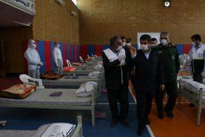 افتتاح نقاهتگاه ۱۰۰تخت خوابی قرارگاه شفا با حضور استاندار خوزستان