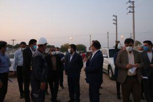 بازدید استاندار خوزستان از پروژه شهرک خودرویی کاریانا