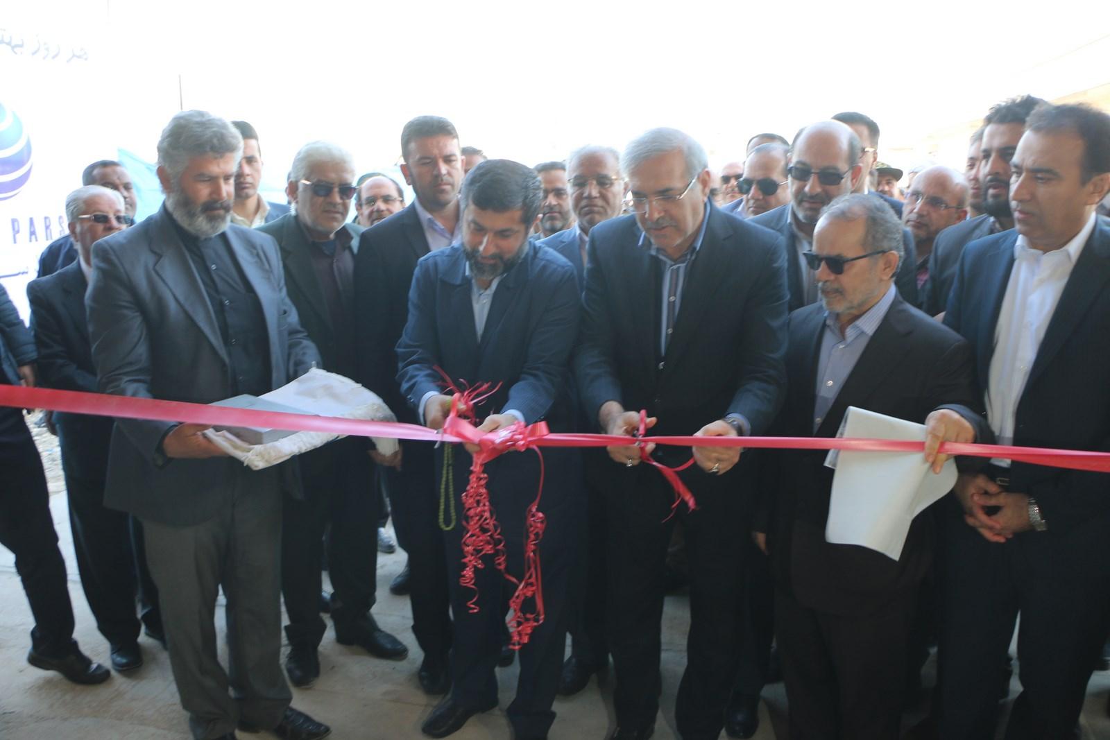 مجهزترین و بزرگترین ایکس ری کامیونی کشور در شلمچه افتتاح شد