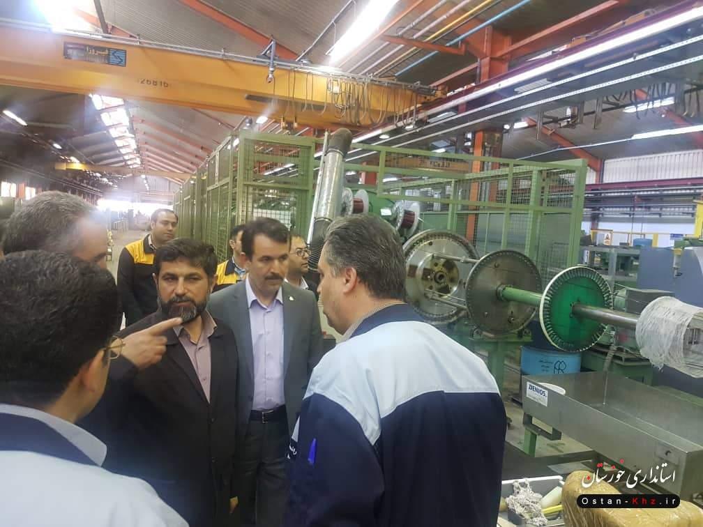 در مراسمی با حضور استاندار خوزستان صورت گرفت / اعزام ترانس های برق ساخت زنجان به خوزستان