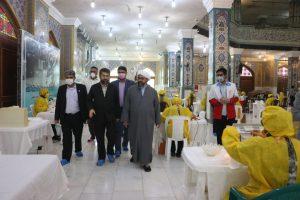 راه اندازی ده کارگاه تولید ماسک و گان بیمارستانی در استان از سوی هلال احمر