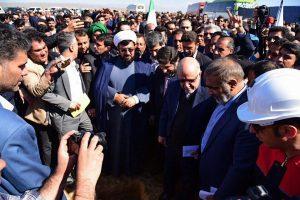 عملیات اجرایی ساخت پروژه پتروشیمی اندیمشک با حضور وزیر نفت و استاندار خوزستان آغاز شد