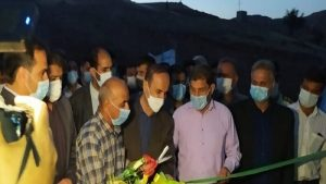 با حضور سلیمانی دشتکی استاندار خوزستان یک بند آبخیزداری در بخش عقیلی گتوند به بهرهبرداری رسید