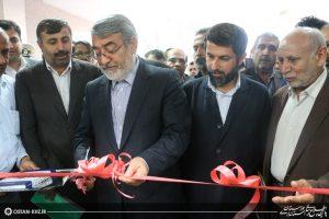 ساختمان جدید مدیریت بحران خوزستان با حضور وزیر کشور افتتاح شد