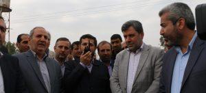 عملیات اجرایی پروژه تقاطع غیرهمسطح منطقه پردیس اهواز با حضور استاندار خوزستان آغاز شد