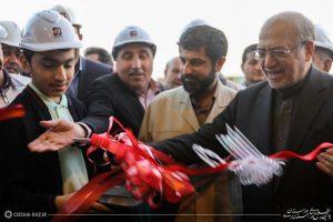 با حضور وزیر صنعت، معدن و تجارت و استاندار خوزستان / کارخانه فولاد آتیه خلیج فارس در اهواز به بهره برداری رسید