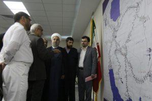 با حضور رئیس جمهور؛مرکز کنترل ترافیک راه آهن جنوب (CTC) در اهواز افتتاح شد