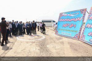 آغاز عملیات اجرایی احداث جاده شهرک صنعتی شماره 5 اهواز با حضور استاندار خوزستان