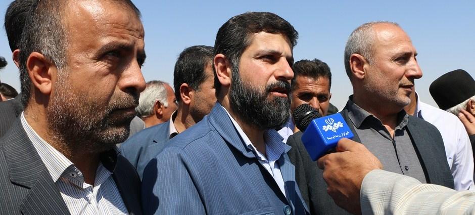 عملیات اجرایی آبیاری تحت فشار دشت لالی با حضور استاندار خوزستان آغاز شد