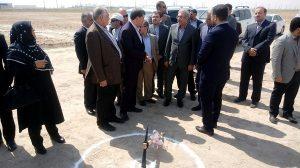 با حضور دبیر عالی شورای مناطق آزاد / عملیات احداث مجتمع صنایع نورد فولاد هما در خرمشهر آغاز شد