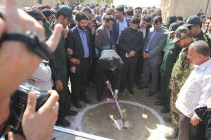 آغاز ساخت نخستین مجتمع خدمات گردشگری بهبهان با حضور استاندار خوزستان